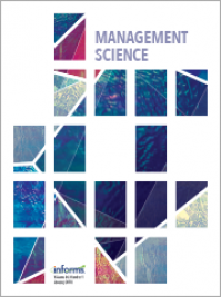 The paper of Simone Righi with Elias Carroni and Paolo Pin is published in Management Science