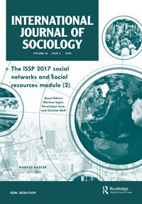 Article by Júlia Koltai has been published in International Journal of Sociology