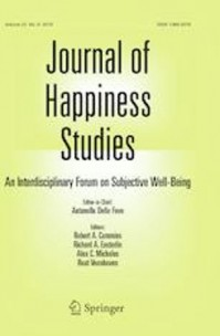 The paper of Radó Márti has been published in Journal of Happiness Studie