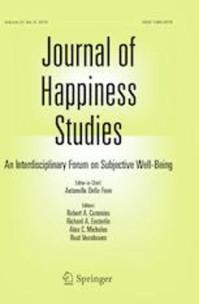 Radó Márti cikkét közölte a Journal of Happiness Studies
